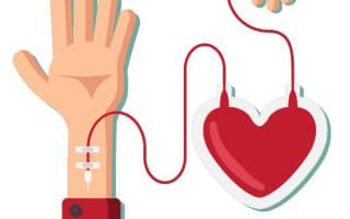 что можно есть донору перед сдачей крови утром