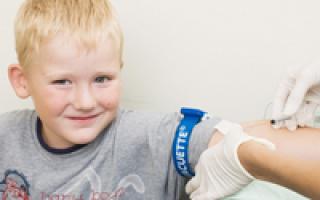 что показывает биохимический анализ крови из вены у ребенка