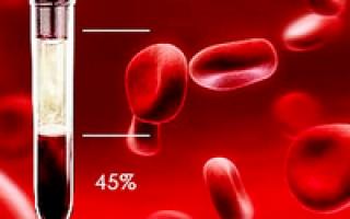что в анализе крови означает гематокрит в крови