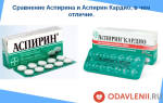 аспирин и аспирин кардио в чем различие