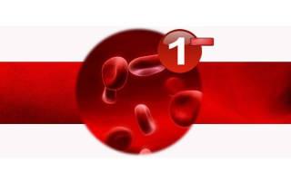1 отрицательная кровь и 2 положительная совместимость