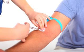 анализ крови из вены натощак или нет